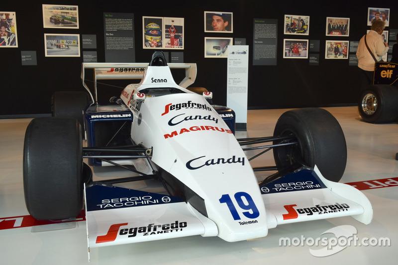 Toleman-Hart TG184 von Ayrton Senna aus der Formel-1-Saison 1984
