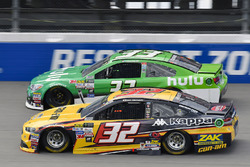 Matt DiBenedetto, Go Fas Racing Ford, Jeffrey Earnhardt, Circle Sport – The Motorsports Group Chevrolet
