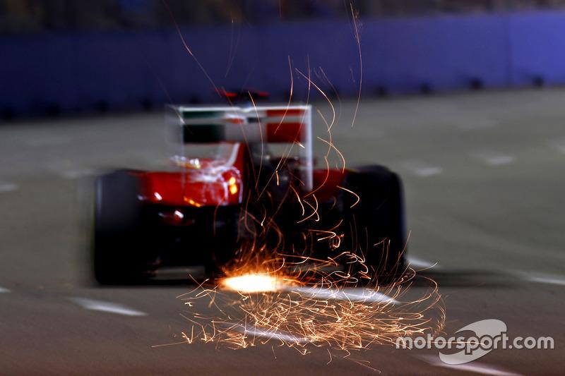 Формула 1. Гран При Сингапура, Фернандо Алонсо, 2011