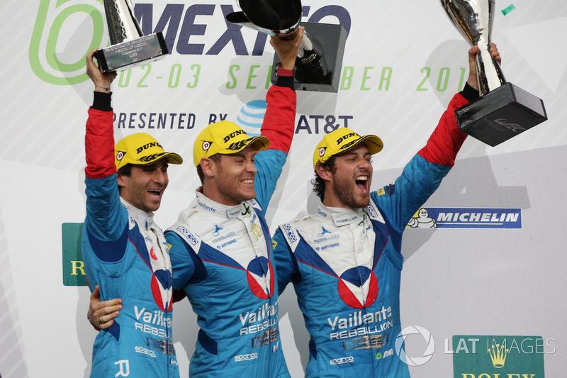 Na LMP2, Bruno Senna, Julien Canal e Nicolas Prost foram os vencedores.