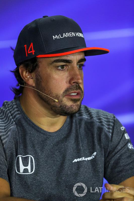 Pressekonferenz: Fernando Alonso, McLaren