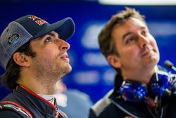 Carlos Sainz Jr., Scuderia Toro Rosso, mit Technikchef James Key