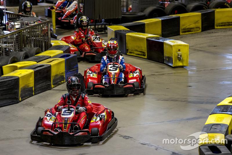 Daniel Abt, ABT Schaeffler Audi Sport, leads Antonio Felix da Costa, Amlin Andretti Formula E Team