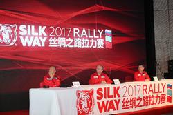 2017SWR北京发布会,三巨头