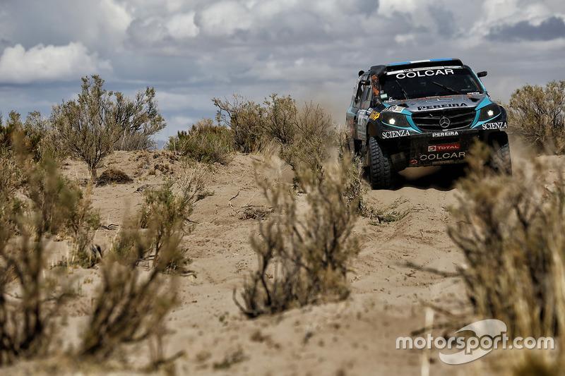 #329 Mercedes: Juan Silva, Sergio Lafuente