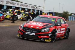 Adam Morgan, Ciceley Motorsport Mercedes Benz A-Classt