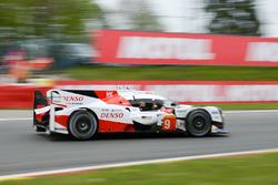 #9 Toyota Gazoo Racing, Toyota TS050 Hybrid: Stéphane Sarrazin, Yuji Kunimoto, Nicolas Lapierre