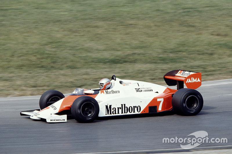 John Watson, McLaren MP4/1E TAG Porsche (1983)