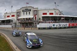 Johan Kristoffersson, Petter Solberg, PSRX Volkswagen Sweden, VW Polo GTi