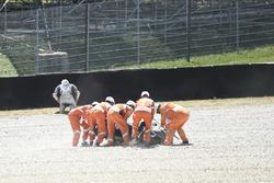 Choque de Maverick Viñales, Yamaha Factory Racing