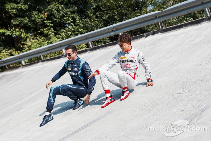 Les vainqueurs de Spa-Francorchamps, Nicholas Latifi et Nyck de Vries