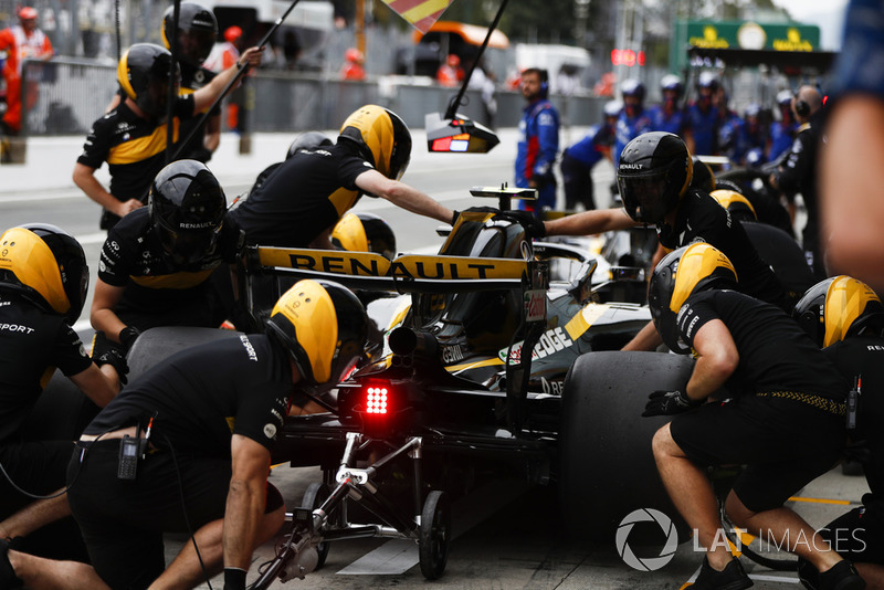 Carlos Sainz Jr., Renault Sport F1 Team RS 18,