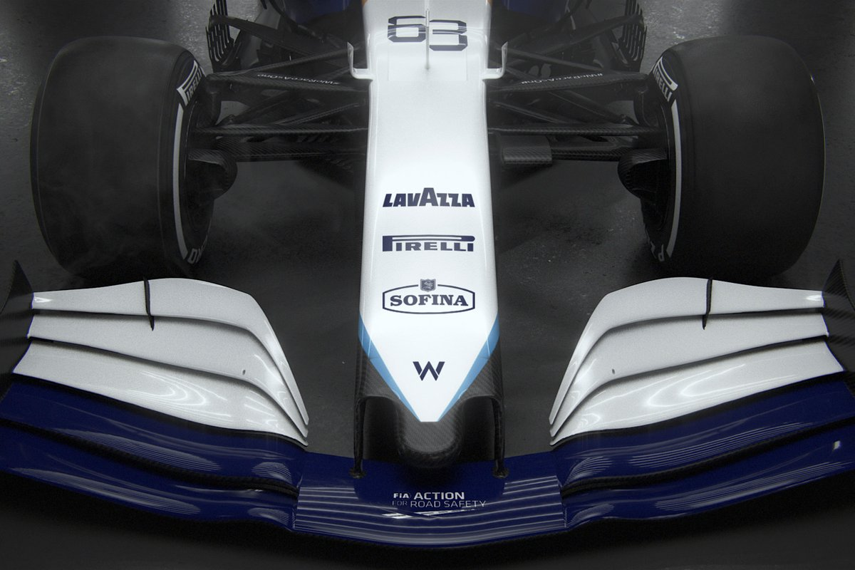 Williams FW43B detail