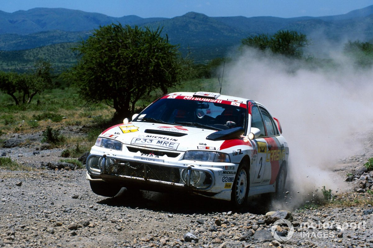 Richard Burns, Robert Reid, Mitsubishi Lancer R6-E3