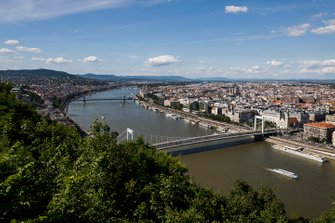Budapest vista da Citadella