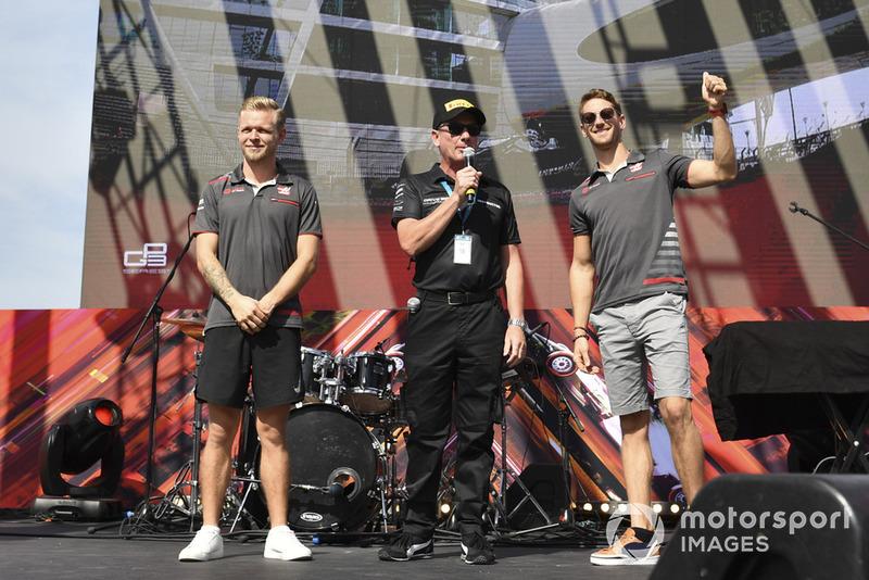 Кевін Магнуссен, Ромен Грожан, Haas F1 Team