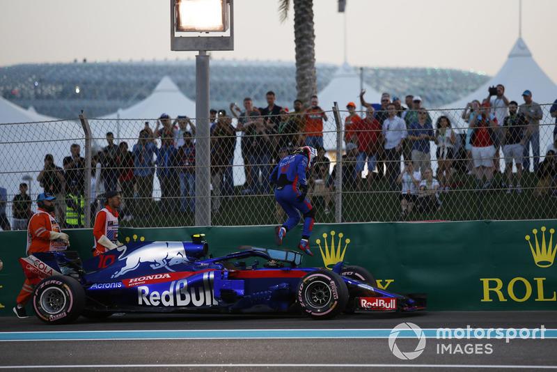 20 місце — П'єр Гаслі, Toro Rosso. Умовний бал — 3,54