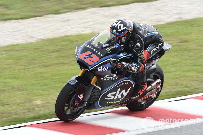 Moto2 Malaysia: Kualifikasi 6, finis 3