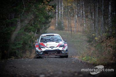Prueba Meeke con Toyota en Finlandia