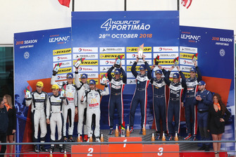 Podium: Race winner #22 United Autosports Ligier JSP217 - Gibson: Philip Hanson, Filipe Albuquerque, second place #23 Panis Barthez Competition Ligier JSP217 - Gibson: Timothé Buret, Julien Canal, Williams Stevens, third place #32 United Autosports Ligier JSP217 - Gibson: William Owen, Hugo de Sadeleer, Wayne Boyd