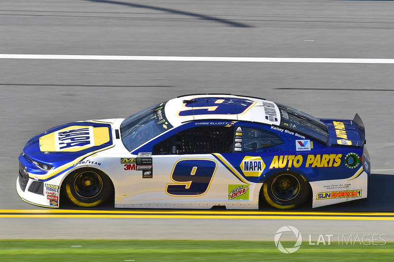 4. Chase Elliott, No. 9 Hendrick Motorsports Chevrolet Camaro