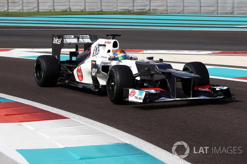 """15. <img src=""""https://cdn-9.motorsport.com/static/img/cfp/0/0/0/100/139/s3/mexico-2.jpg"""" alt="""""""" width=""""20"""" height=""""12"""" />Esteban Gutiérrez, 59 Grandes Premios (2013-2014, 2016). Su mejor resultado es el 7° puesto (en Japón 2013)."""