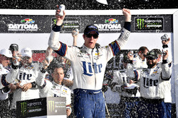 Brad Keselowski, Team Penske Ford Fusion wins the Clash