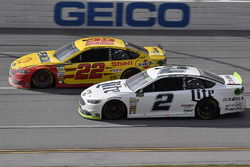 Joey Logano, Team Penske Ford, Brad Keselowski, Team Penske Ford