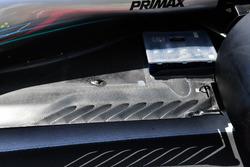 Задняя часть днища Mercedes AMG F1 W09