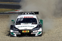 Mike Rockenfeller, Audi Sport Team Phoenix, Audi RS 5 DTM through the gravel