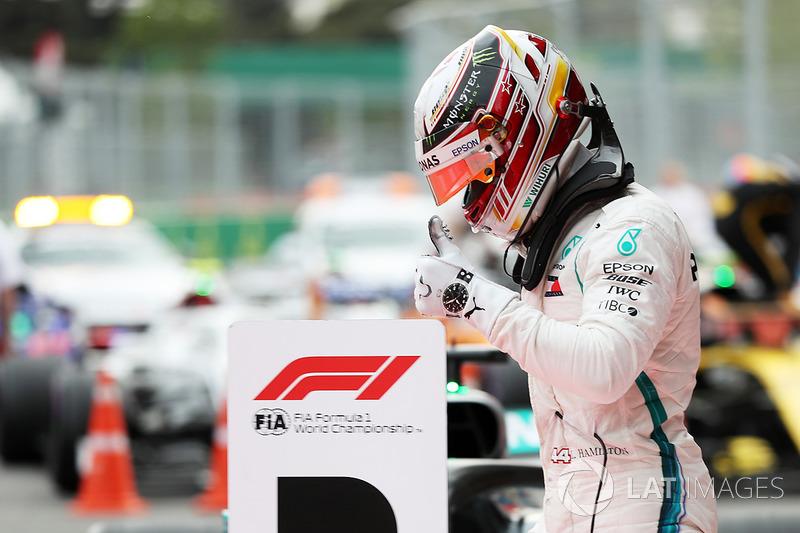 Yarış galibi Lewis Hamilton, Mercedes AMG F1