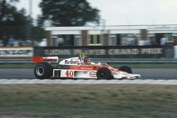 Жиль Вильнёв, McLaren M23