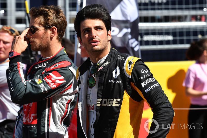 7. Carlos Sainz Jr., Renault Sport F1 Team