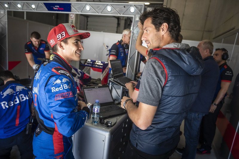 Marc Marquez ve Mark Webber