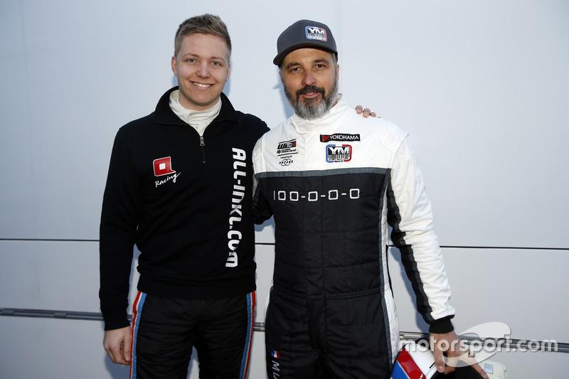 Ян Эрлаше, ALL-INKL.COM Münnich Motorsport, и Иван Мюллер, YMR
