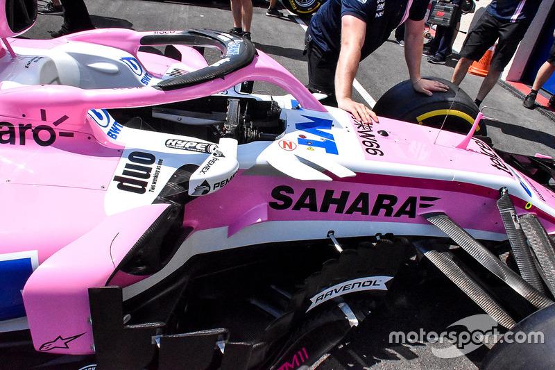 Force India VJM11 у деталях