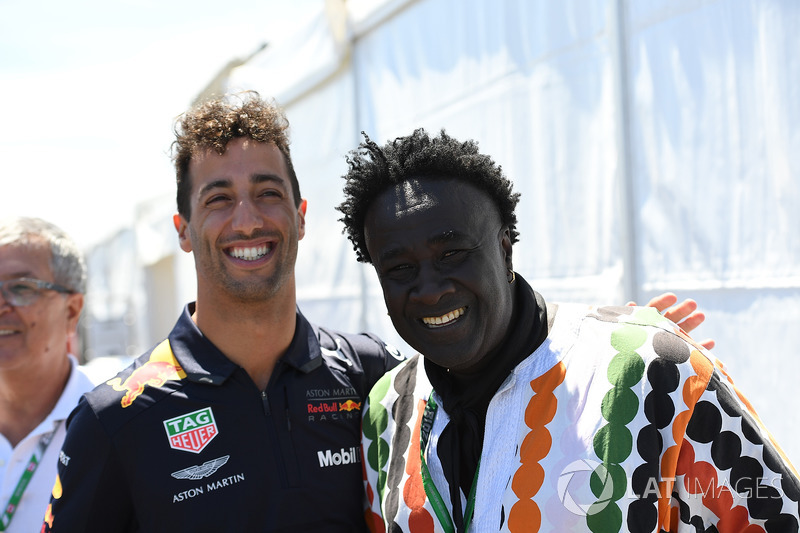 Daniel Ricciardo, Red Bull Racing and Memo Rojas, Moko, Chrome Hearts Jewellary
