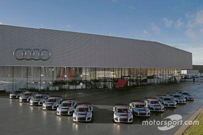Levering van Audi R8 LMS GT4