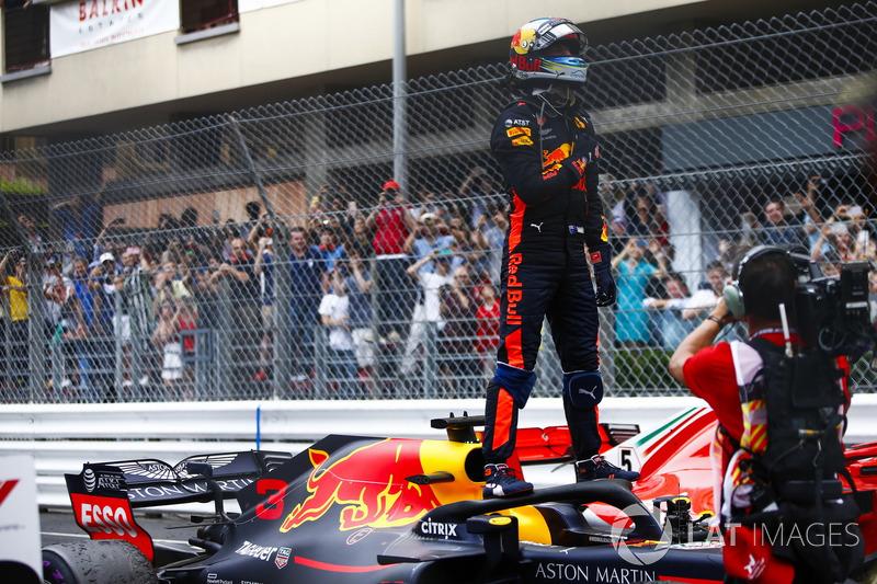 Восхищение и эмоции Red Bull после второй победы Риккардо в сезоне-2018