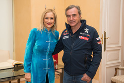 Carlos Sainz, Peugeot Sport, Cristina Cifuentes, Community of Madrid President