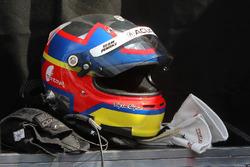 Helmet of Juan Pablo Montoya, Team Penske