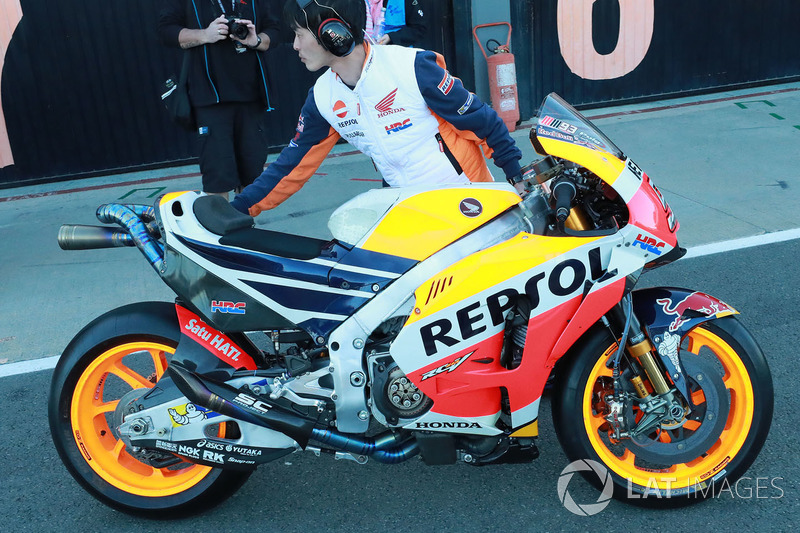 Мотоцикл Repsol Honda Team