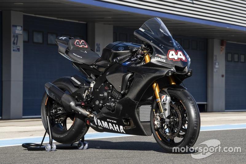 Yamaha Superbike van Lewis Hamilton