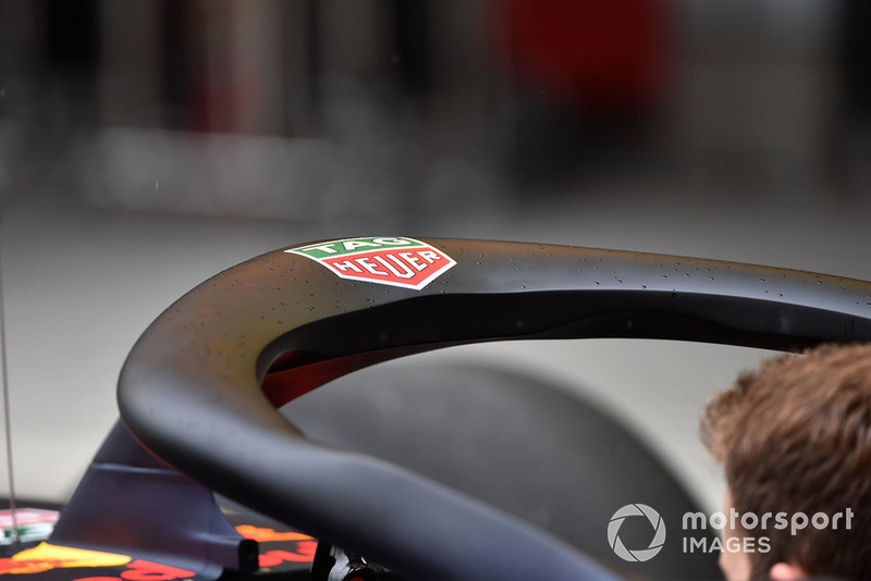 Halo en el Red Bull RB14