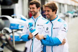 Alexander Sims, BMW I Andretti Motorsports, Antonio Felix da Costa, BMW I Andretti Motorsports, BMW iFE.18