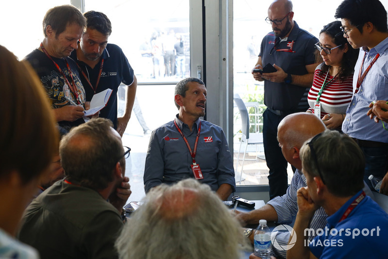 Guenther Steiner, Team Principal, Haas F1, en interview
