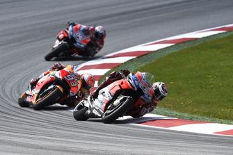 Jorge Lorenzo, Ducati Team, Marc Marquez, Repsol Honda Team, Andrea Dovizioso, Ducati Team