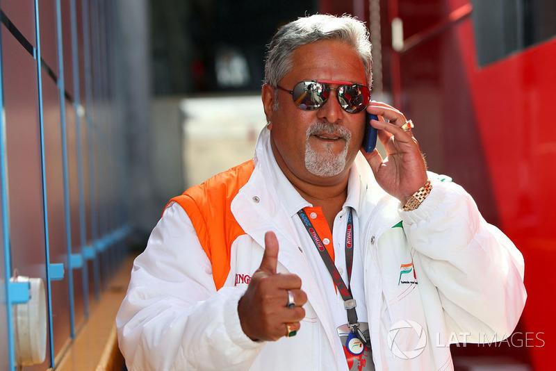 Dr. Vijay Mallya, Force India F1