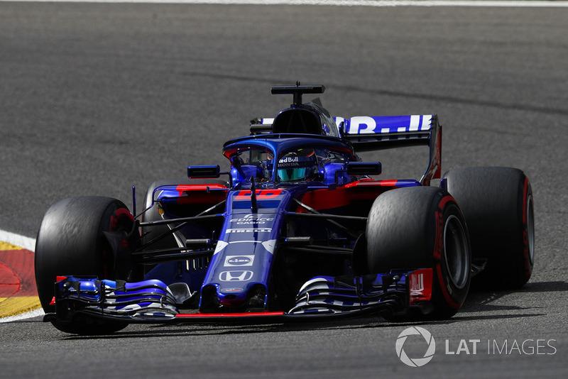 21 місце — Брендон Хартлі, Toro Rosso — 2