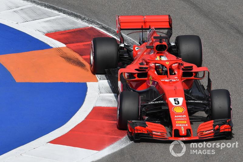 3 місце — Себастьян Феттель, Ferrari. Умовний бал — 37,78